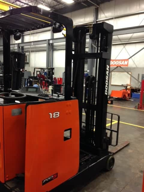 Toyota Of Greenville Nc >> Used Forklift 2009 Doosan BR18s