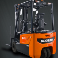 New 7 Series electric forklift from Doosan Thumbnail