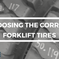 Choosing the right tires for your forklift Thumbnail