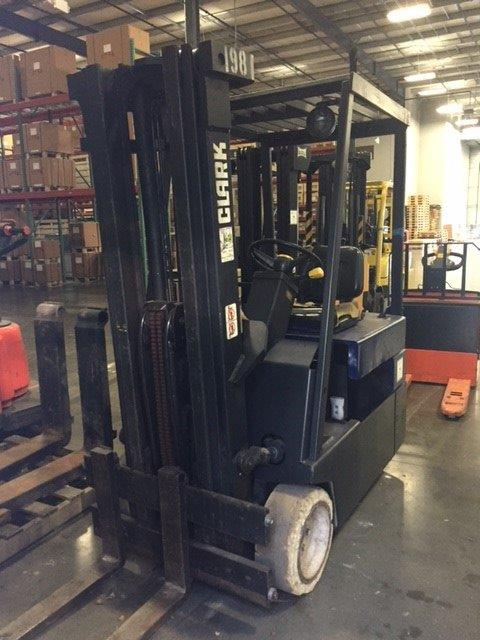 Toyota Of Greenville Nc >> Used Forklift 1995 Clark TM15