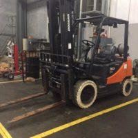 Used Forklift Doosan G30E-5 Forklift Thumbnail