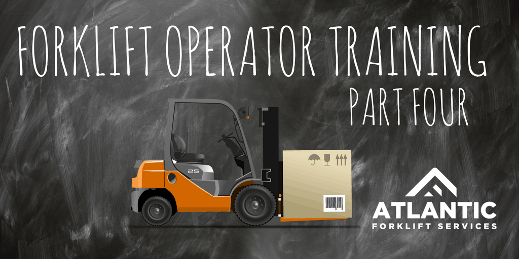 how to become a forklift operator trainer