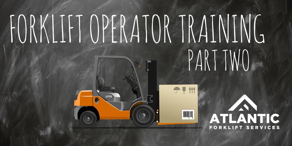 Part 2 Forklift Driver Training